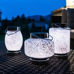 Solar Boaters Glass Lantern