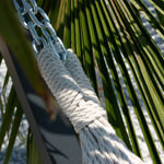 Large Cotton Brazilian Sunshine Stripe Hammock with FREE Matching Storage Bag