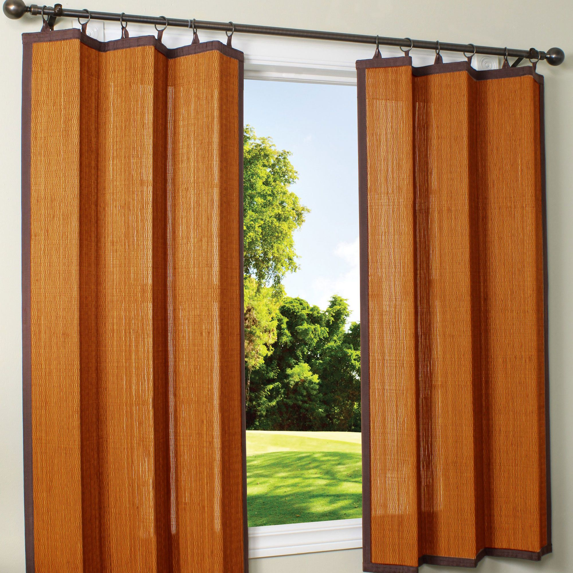 Cedar Bamboo Outdoor Curtain 40 X 63