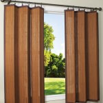 Espresso Bamboo Outdoor Curtain (40 x 63) / Drapes