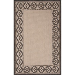 Jaipur Breeze Birch Ivory and White Truss Outdoor Rug