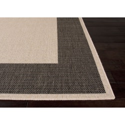 Jaipur Breeze Breeze Birch and Beluga Picnic Outdoor Rug