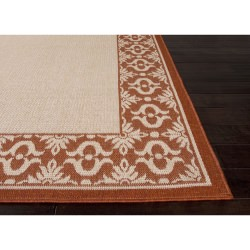 Jaipur Breeze Birch Ivory and Yam Truss Outdoor Rug