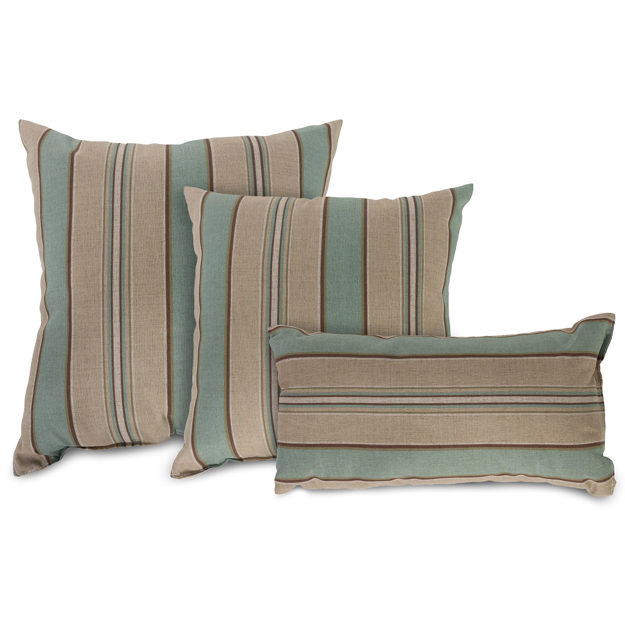 Small Square Decorative Pillows : Crestwood Spa Small Square Outdoor Pillow DFOHome