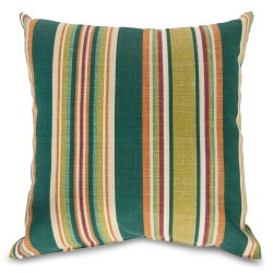 Baldwin Stripe Small Square Outdoor Pillow