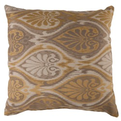 Aura Honey Sunbrella Designer Porch Pillow