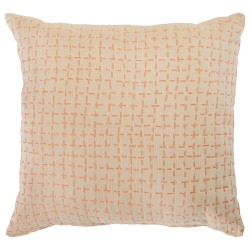 Bellamy Tangelo Sunbrella Outdoor Pillow 19 in. x 19 in.