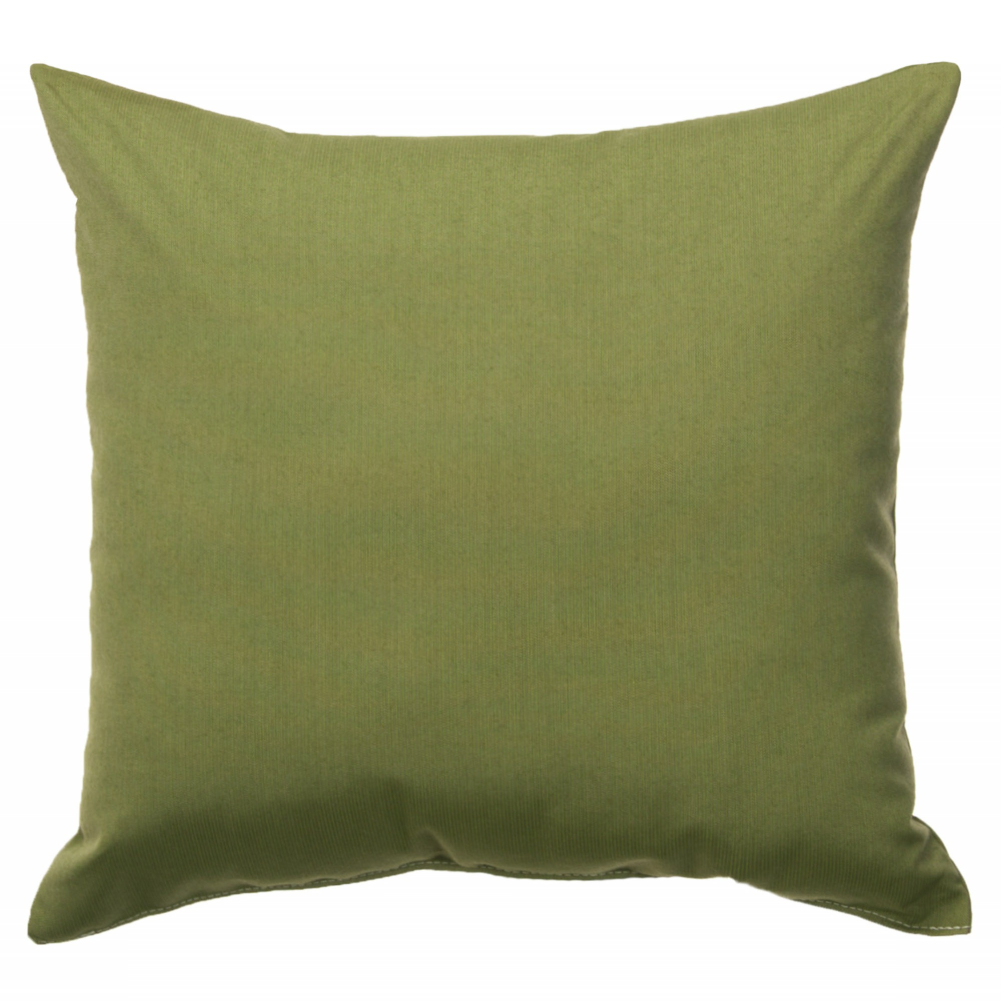 Genial Spectrum Cilantro Sunbrella Outdoor Throw Pillow (24 X 24)