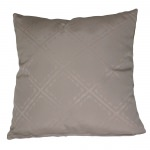 Taupe Outdoor Throw Pillow
