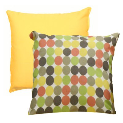 Dots Scene Outdoor Pillow Set