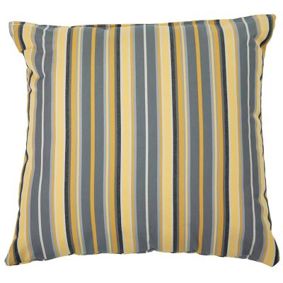 Foster Metallic Sunbrella Outdoor Throw Pillow