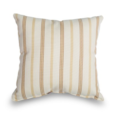 Granada Stripe Outdoor Throw Pillow 16 in. x 16 in. Square
