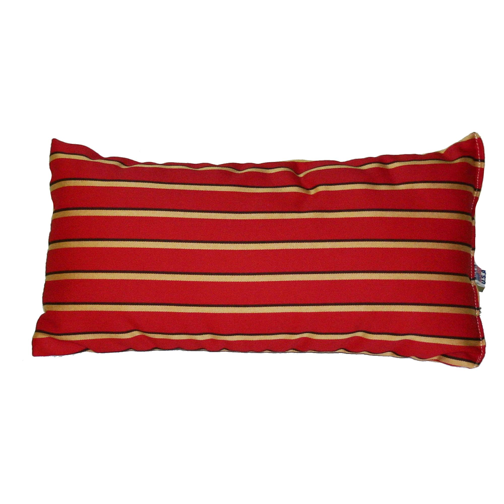 Sunbrella Throw Pillows Clearance : Shop Harwood Crimson Sunbrella Outdoor Throw Pillow - Essentials by DFO; Pillows; Outdoors ...