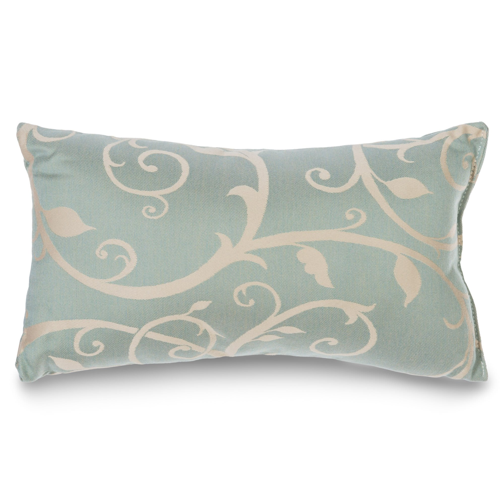 Sunbrella Throw Pillows Clearance : Cabaret Blue Haze Sunbrella Outdoor Throw PillowHatteras Hammocks DFOHome