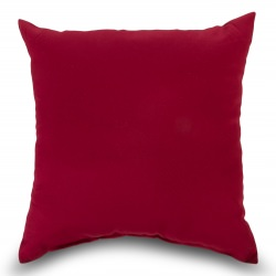 Burgundy Outdoor Throw Pillow