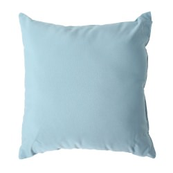 Mineral Blue Sunbrella Outdoor Throw Pillow