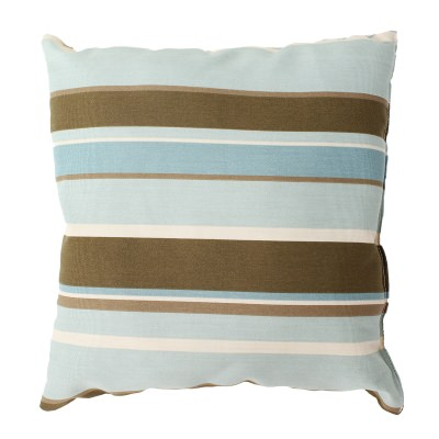 Monserrat Surf Outdoor Throw Pillow 19 in. x 19 in. Square