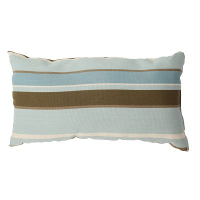 Monserrat Surf Outdoor Throw Pillow 19 in. x 10 in. Rectangle/Lumbar