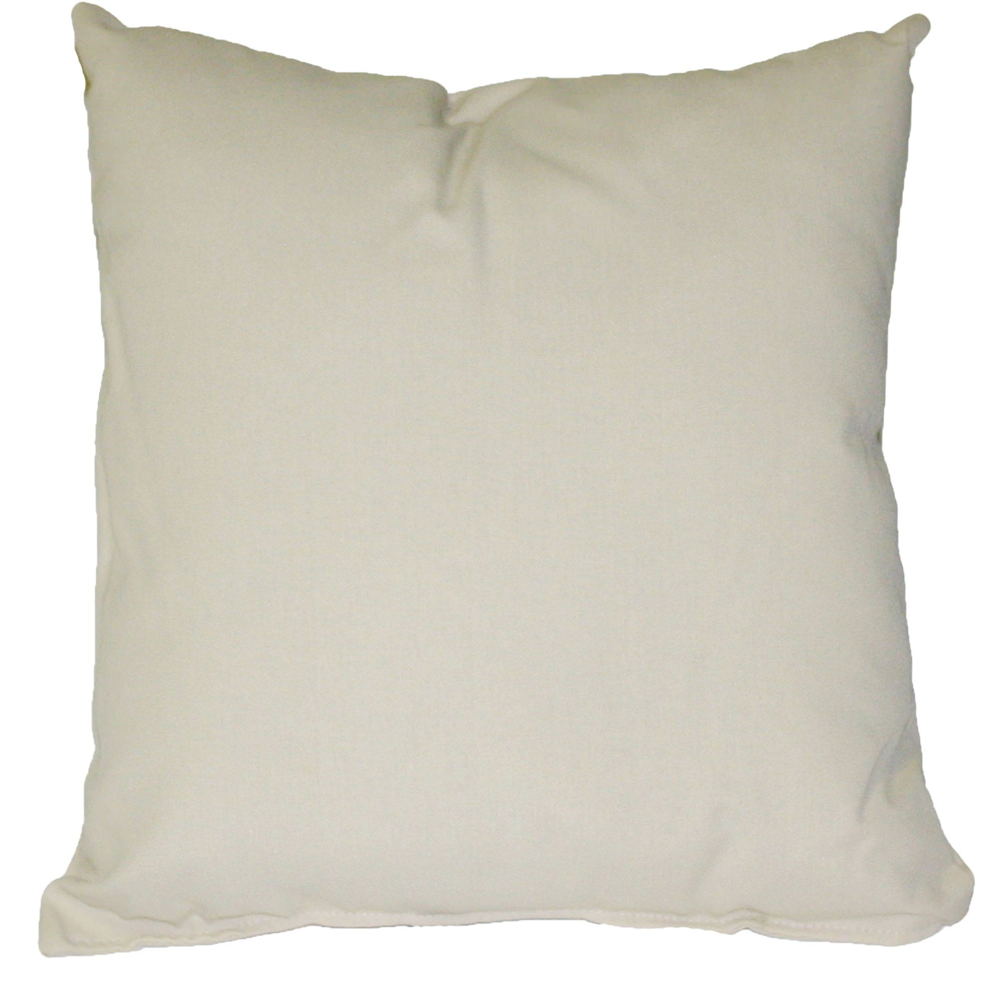 Sunbrella Throw Pillows Clearance : Oatmeal Sunbrella Outdoor Throw Pillow DFOHome
