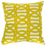 Reflex II Cirtron Sunbrella Outdoor Throw Pillow