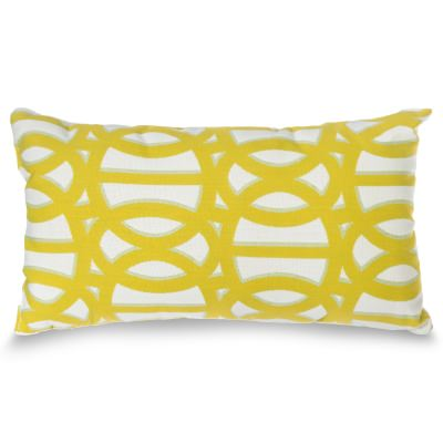 Reflex II Cirtron Sunbrella Rectangle Outdoor Throw Pillow (19