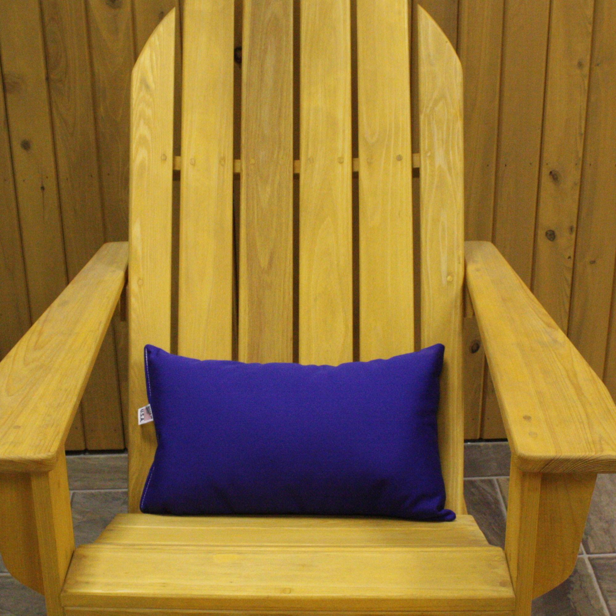 Royal Blue Sunbrella Outdoor Throw Pillow DFOHome