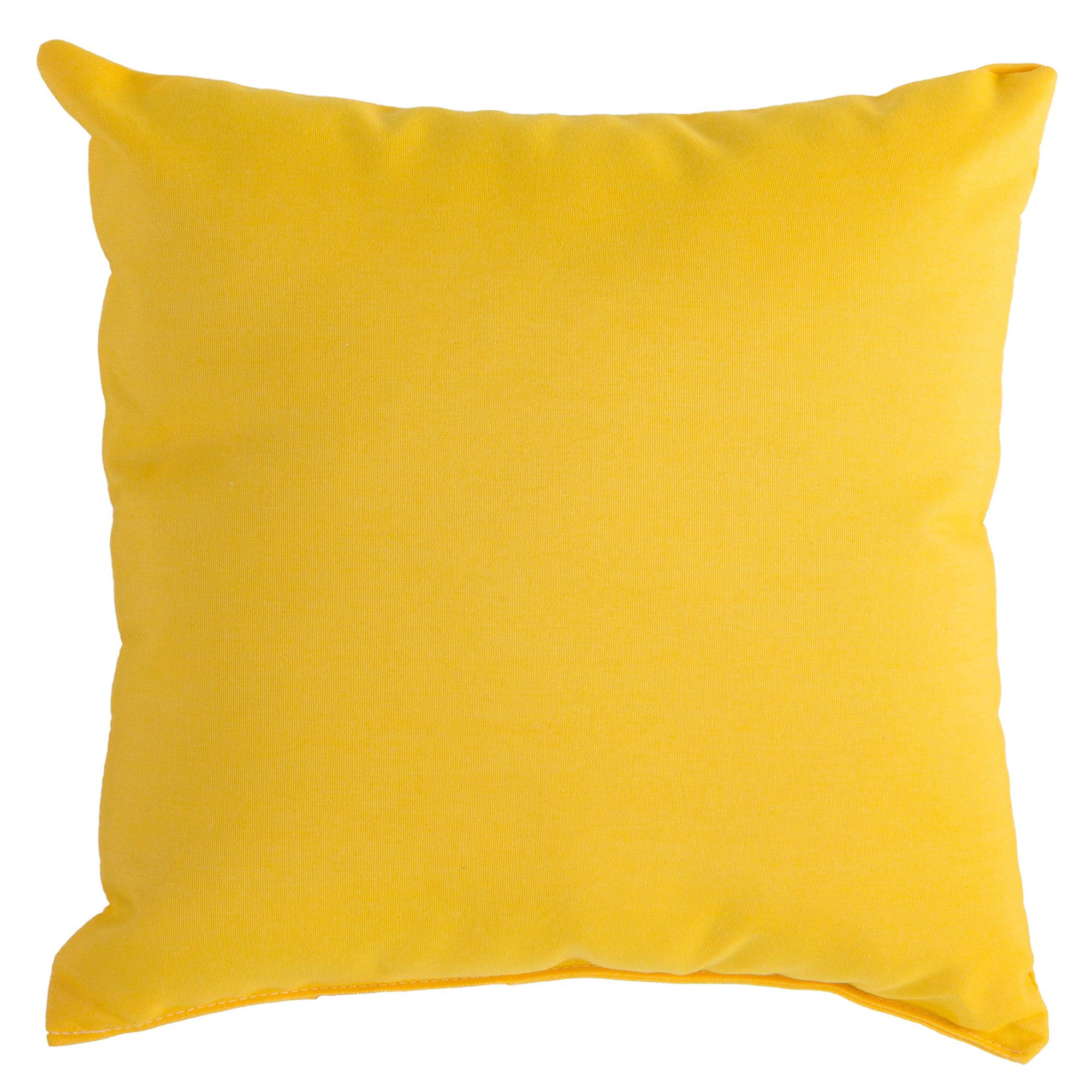 Sunbrella Throw Pillows Clearance : Sunflower Yellow Sunbrella Outdoor Throw Pillow DFOHome