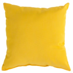Sunflower Yellow Sunbrella Outdoor Throw Pillow
