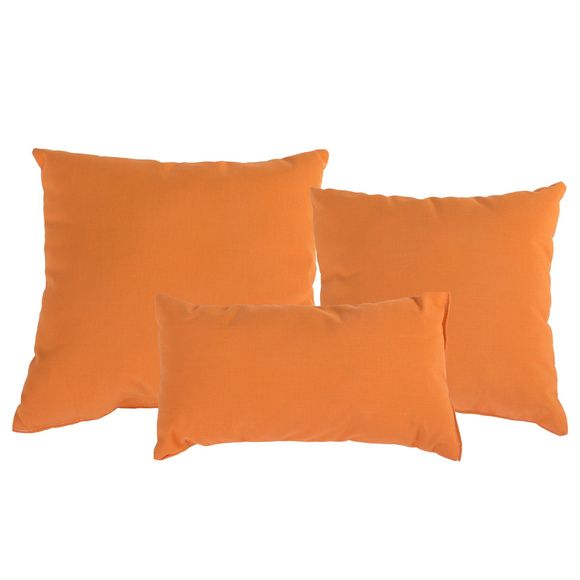 Tangerine Sunbrella Outdoor Throw Pillow DFOHome