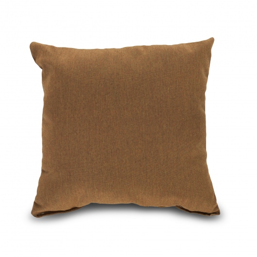 Sunbrella Throw Pillows Clearance : SunbrellaThrow PillowBrownTeak DFOHome