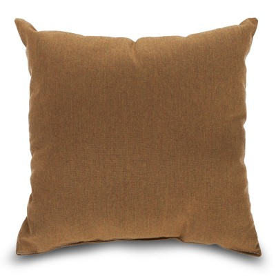 Canvas Teak Sunbrella Outdoor Pillow