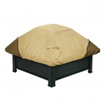Classic Accessories 40 Inch Veranda Square Fire Pit Cover