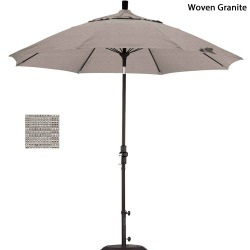 9ft. Fiberglass Market Umbrella with Tilt Choose a Color