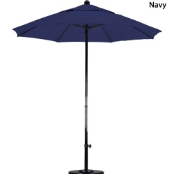 7.5ft. Fiberglass Market Umbrella with Pulley in 7 colors