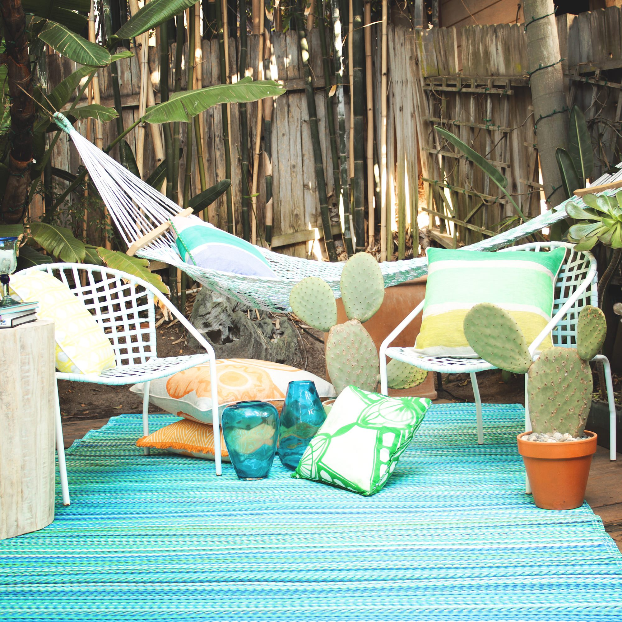 recycled plastic outdoor rugs & mats | dfohome