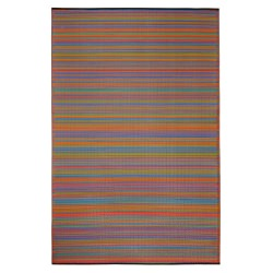 Cancun Multicolor Outdoor Mat 4ft x 6ft