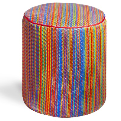 Cancun Multicolor Pouf