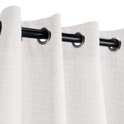 Sunbrella Canvas Canvas Outdoor Curtain with Nickel Grommets