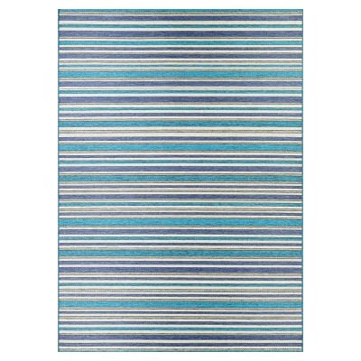 Cape Brockton Rug Cobalt/Teal 2ft. x 3ft. 7in.