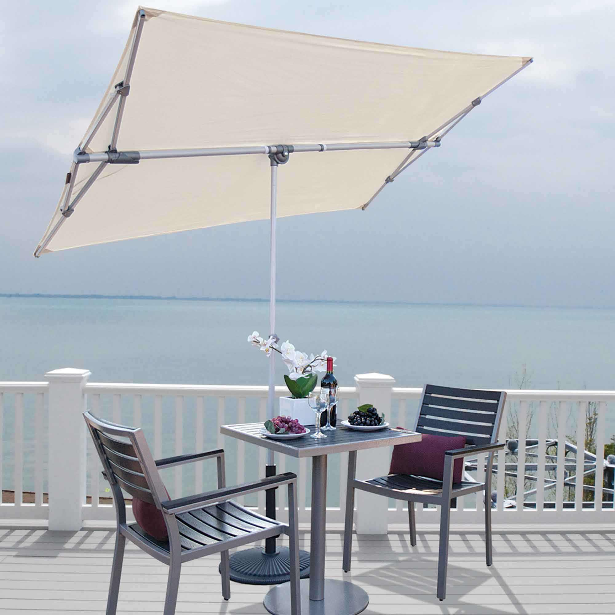 Simply Shade Capri Rectangle Balcony Umbrella