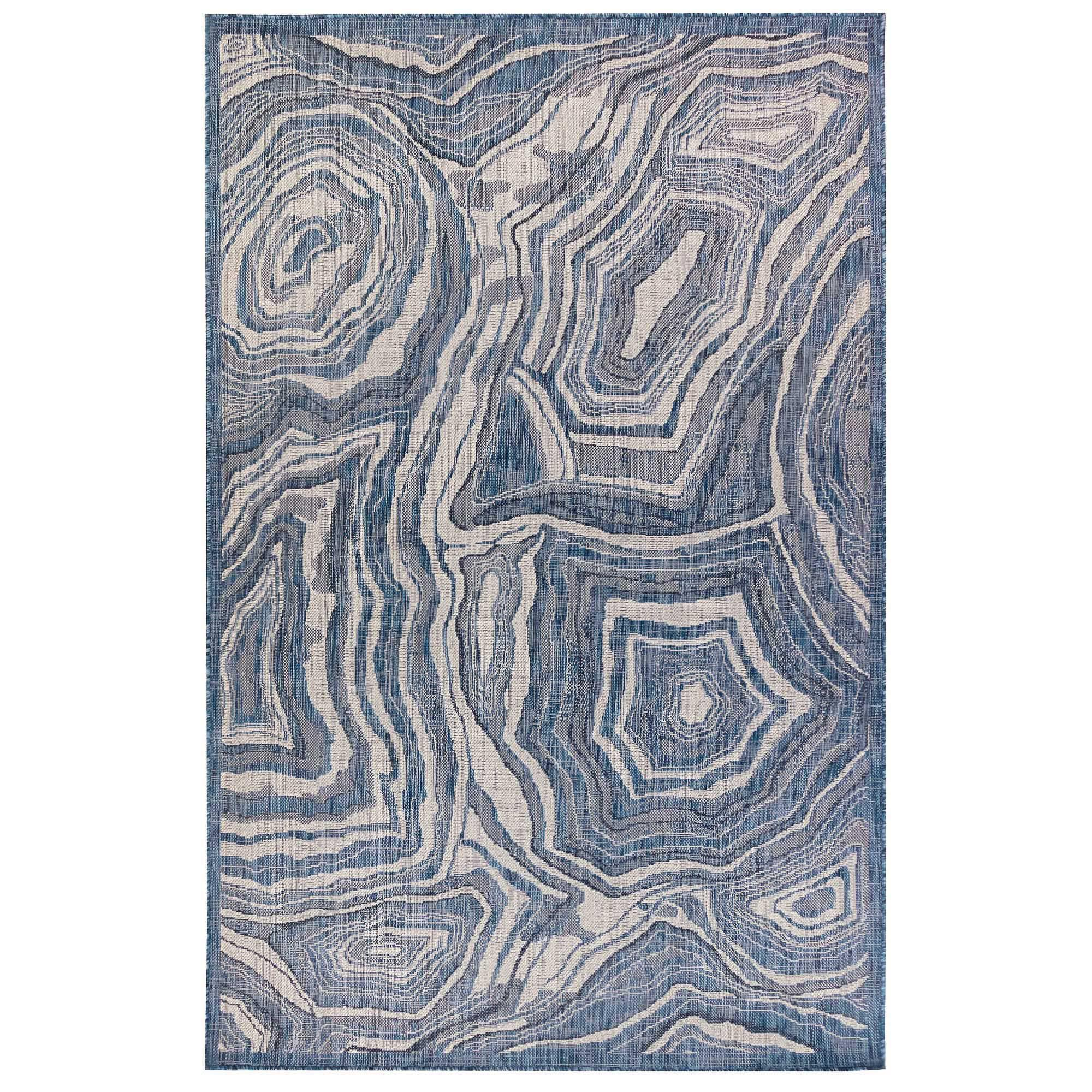Carmel Agate Navy Indoor/Outdoor Rug