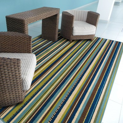 Stripe Outdoor Rugs