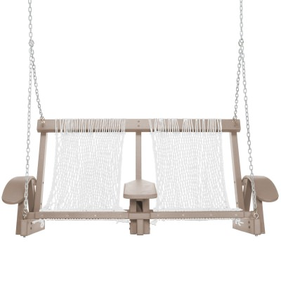 Coastal WeatherWood DuraCord Swing