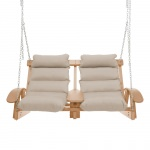 Coastal Cedar Cushion Swing