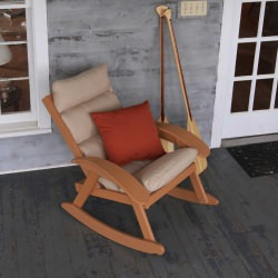 Coastal Cedar Cushion Rocker