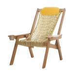 Coastal Cedar Rope Chair