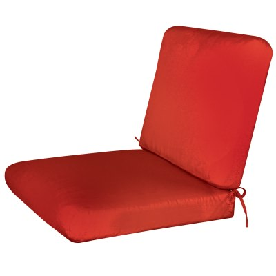 Bullnost 2-Piece Chair Sunbrella Cushion Red Color Options
