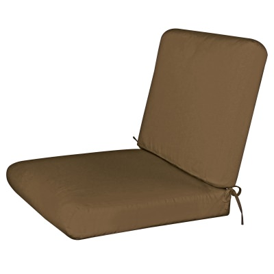 Bullnost 2-Piece Chair Sunbrella Cushion Brown Color Options