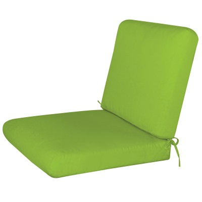 Bullnost 2-Piece Chair Sunbrella Cushion Green2 Color Options
