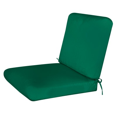 Bullnost 2-Piece Chair Sunbrella Cushion Green1 Color Options